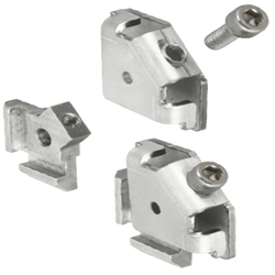 For 5 Series (Slot Width 6mm) Aluminum Frames - Post-Assembly Insertion Easy Brackets