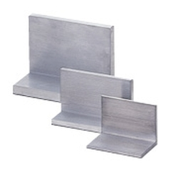 L-Shaped Aluminum Angles - No Radius, Dimension Configurable