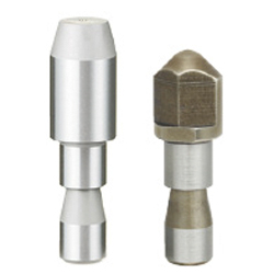 Locating Pins for Fixtures - Tip Shape Selectable, Standard Grade, No Shoulder - Set Screw