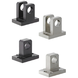 Hinge Bases - Center Fulcrum, 2 Point Mounting