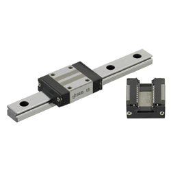 Miniature Linear Guides - Dust Resistant - Standard Blocks, Light Preload