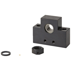 Lead Screw Support Units Square Type - Fixed Side Radial Bearing Type
