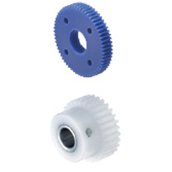 Plastic - Spur Gears, Pressure Angle 20°