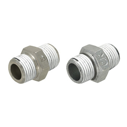 Low Pressure Fittings/With Seal Coating/Hexagon Nipple