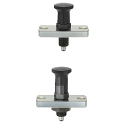 Indexing Plungers-Flanged/Return and Rest Position Type