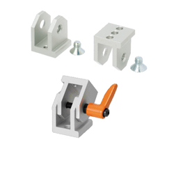 Free Angle Brackets - For 6 Series (Slot Width 8mm) Aluminum Frames