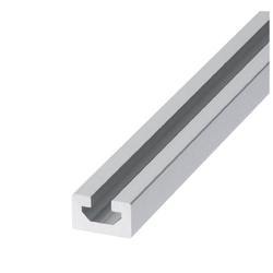 Non-Flanged Flat Aluminum Extrusions - Common to Bar Nuts and Pre-Assembly Insertion Nuts