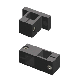 Holders for Aluminum Extrusions, Clamps - Square Posts