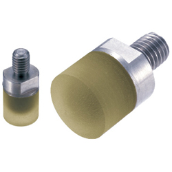 Urethane Rubber Pushers - Threaded Type