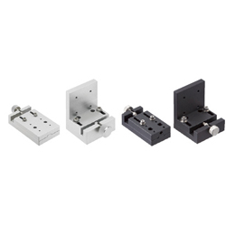 [Simplifi ed Adjustments] X-Axis, Feed Screw, Side Clamp Units / Key Guide Units - Flat Type / L-Shaped Type