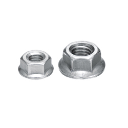 Flanged Nuts - For 6 Series (Slot Width 8mm) Aluminum Extrusions