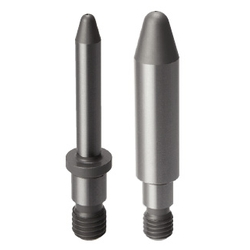 Locating Pins for Fixtures - Standard grade, Long Head (Threaded)