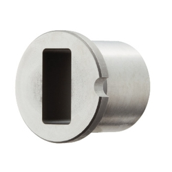 Bushings for Inspection Components - Square - Shouldered (Dowel Pin)