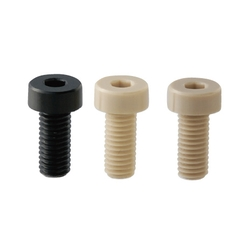 Plastic Hex Socket Head Cap Screws/Low Head/PEEK/PPS/RENY