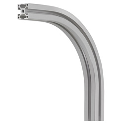 Aluminum Frame 8 Series 90-Degree Bent Aluminum Frames for Corner