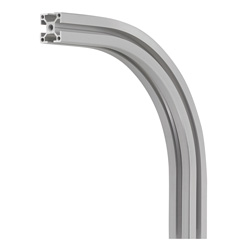 Aluminum Frame 6 Series 90-Degree Bent Aluminum Frames for Corner