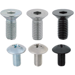 Hex Socket Flat Head Cap Screws/ Phillips Truss Machine Screws Small Screw Bulk Packages (500 pcs. per package)
