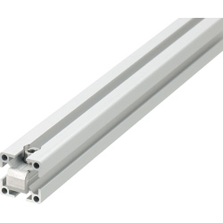 Blind Joint Components - Aluminum Extrusions with Built-in Center Joints for 6 Series (Slot Width 8mm)