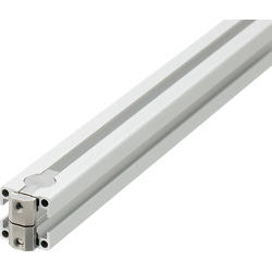 Blind Joint Components - Double Joints Pre-Assembled Aluminum Extrusions  for 8 Series (Slot Width 10mm)