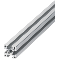 Blind Joint Components -  Aluminum Extrusions with Built-in Screw Joints for 6 Series (Slot Width 8mm)