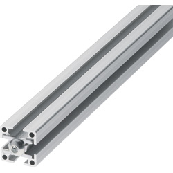 Blind Joint Components -  Aluminum Extrusions with Built-in Screw Joints for 8 Series (Side Slot 10mm)