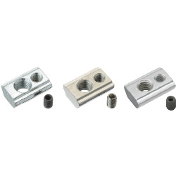 For 6 Series (Slot Width 8mm) - Post-Assembly Insertion - Lock Nuts