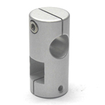 Stainless Steel Round Hole Pipe Joint Square/Round Type