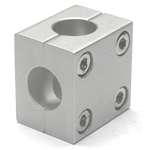 Round Pipe Joint, Same Diameter Hole Model, Two Split Cross Shape