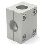 Round Pipe Joint Different Diameters Hole Type Two-Split T Shape