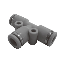 Push-in Fitting, WP Series, Union Tee