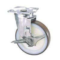 Stainless Steel Caster, SU-STC Series, Includes Independent Stopper