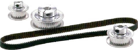 Timing Belt Pulley Tooth Pitch 2 mm, Belt Width 6 mm_2GT