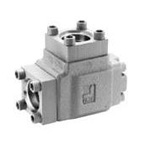 Flange type throttle valve
