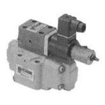 Electromagnetic reducer valve with proportional relief