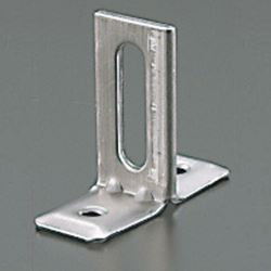 Vertical Pipe Fitting / Mounting Leg, Stainless Steel T-Shaped Legs (Slotted Hole)