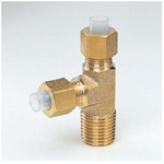Quick Seal Series Insert Type (Brass) Service Tee (Inch Size)