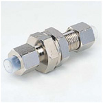 Quick Seal Series, DK Tube Dedicated Type Panel Touch Connector (Nickel Plated Part)