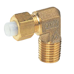 QuickSeal Series, Insertion Type (Brass Specification) 90° Elbow (Size in Inches)