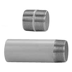 Stainless Steel Screw-in Pipe Fitting, Stainless Steel Nipple N (NS) Type