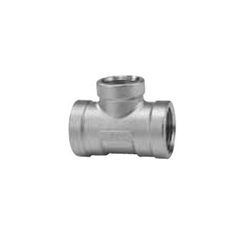 Stainless Steel Screw-In Tube Fitting Tee with Reducing