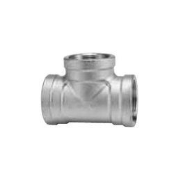 Stainless Steel Screw-in Pipe Fitting, Tee