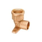 Water Faucet Metal Pipe Elbow Fitting, with seat