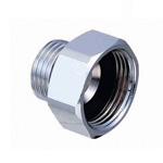 Metal Pipe Fitting, Parallel Nipple, With Inner/Outer EPDM Packing