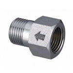 Metal Pipe Fitting, Nipple With Check Valve