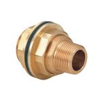 Metal Pipe Fitting, Wall-Penetrating Fixture