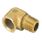 Metal Pipe Fitting, Street Elbow, Brass