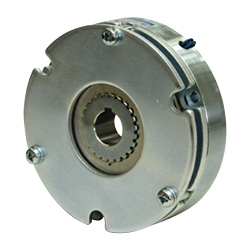 Spring-actuated-type-permanent-magnet-actuated brake (for retention or emergency stop)