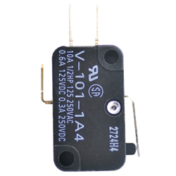 Small basic switch, V
