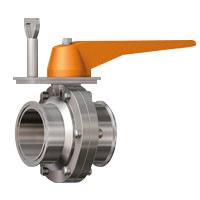 Manually Adjustable Stopper, Butterfly Valve