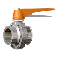 Manual Lock Stopper Type Butterfly Valve